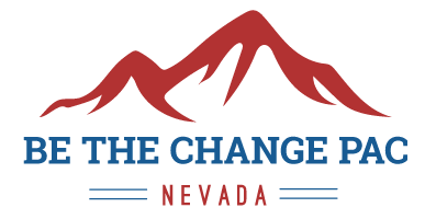 Be the Change PAC Nevada Logo Chris Giunchigliani